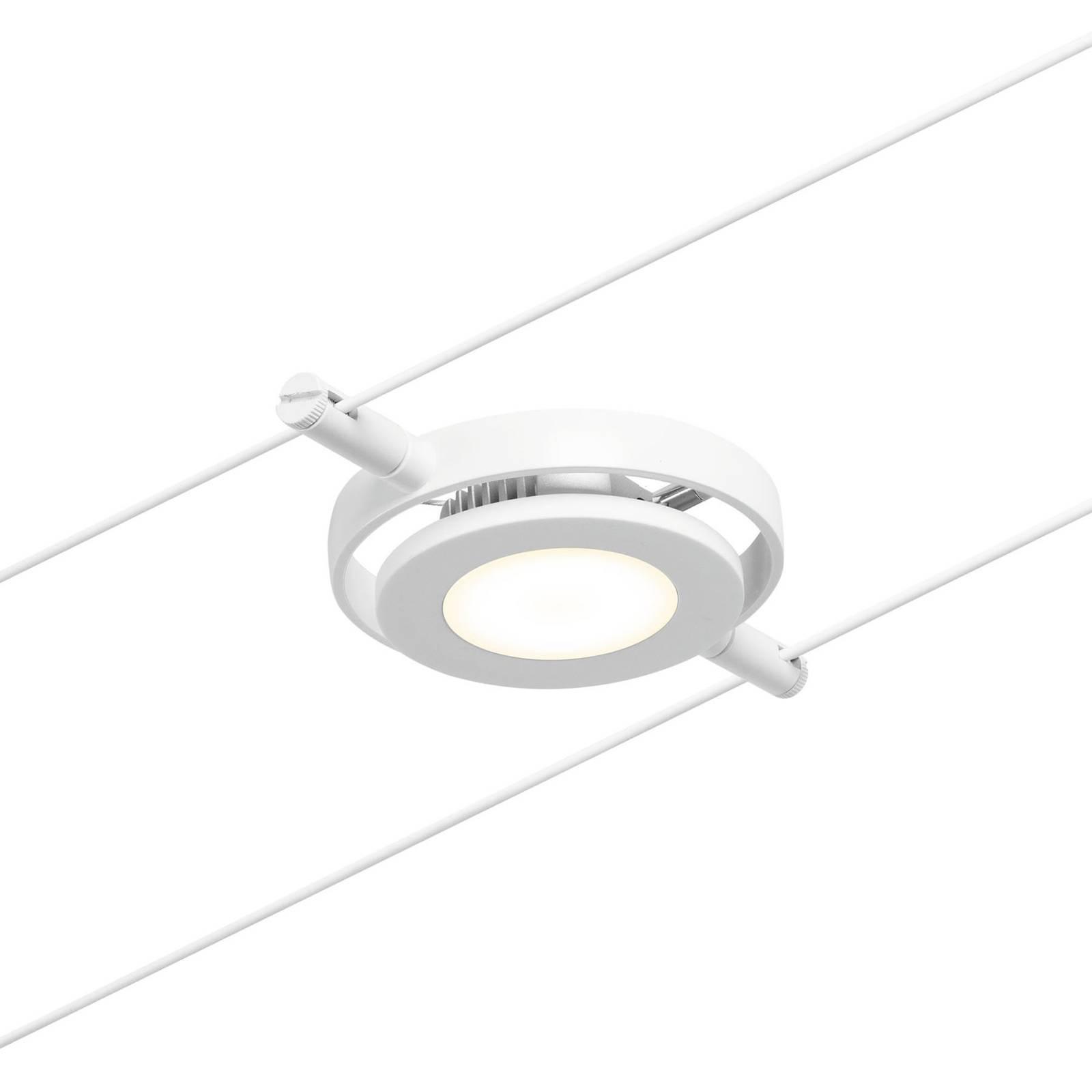 Paulmann Wire RoundMac 5-lamppuinen valkoinen