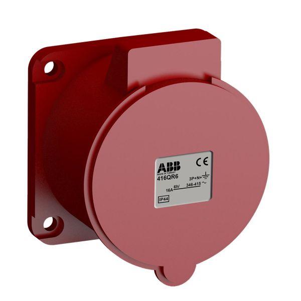 ABB 2CMA102327R1000 Paneelin ulostulo pikaliitettävä, tärinänkestävä Suora, 5-napainen, 16 A, 60x60 mm