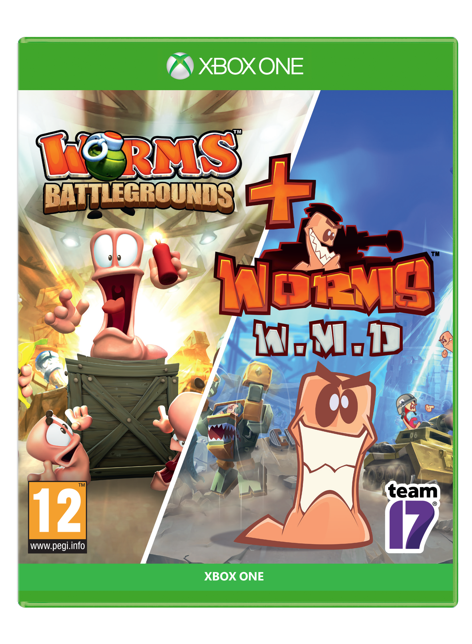 Worms Battlegrounds + Worms WMD Double Pack