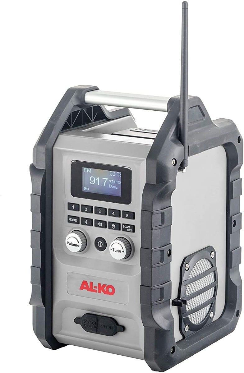 AL-KO Radio DAB WR 2000 Uten Batteri OG Lader, Easy Flex Serien