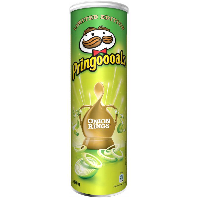 """Chips """"Onion Rings"""" 190g - 22% rabatt"""
