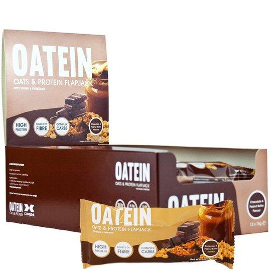 "Hel Låda Havre- & Proteinbars ""Chocolate & Peanut Butter"" - 46% rabatt"