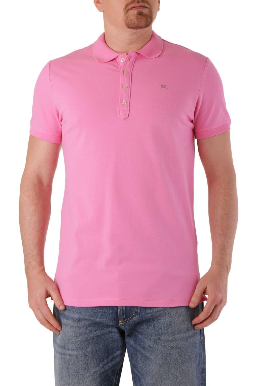 Diesel Men's Polo Shirt Various Colours 283810 - pink-2 L