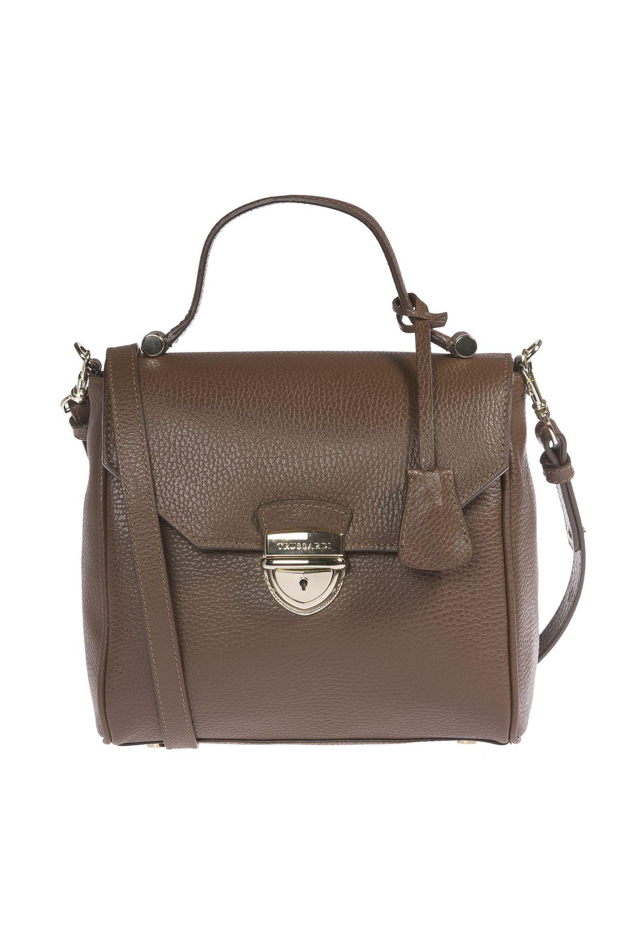 Trussardi Women's Handbag Brown 1DB486_69DarkBrown