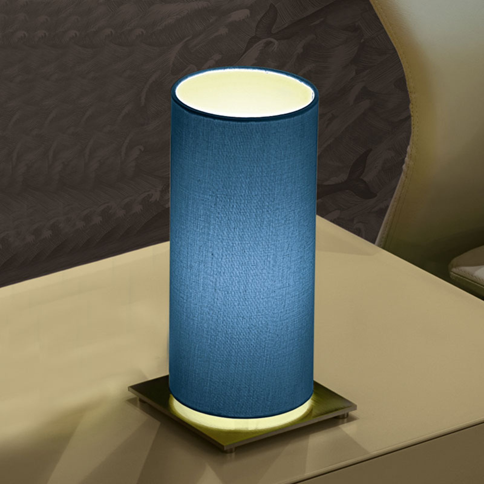 Modo Luce Lost bordlampe Ø 18 cm blå