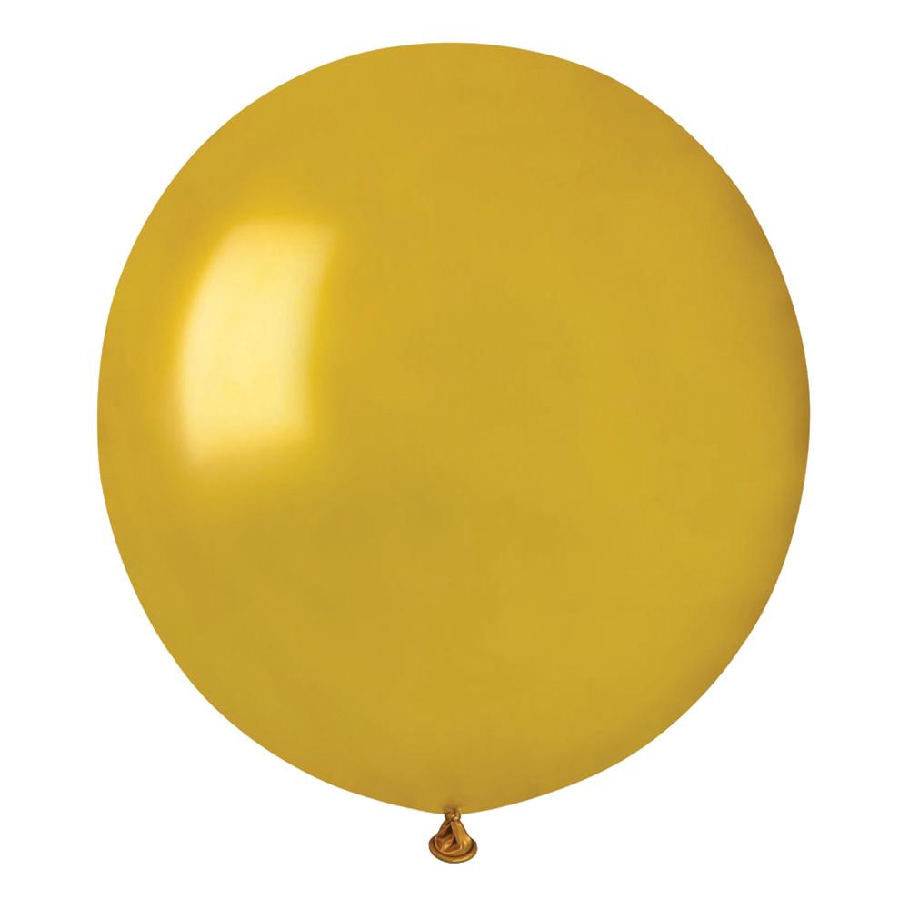 Ballonger Guld Runda Stora - 10-pack