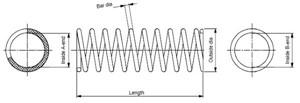 Jousi (auton jousitus), Taka-akseli, MERCEDES-BENZ 190 [W201], 201 324 2504