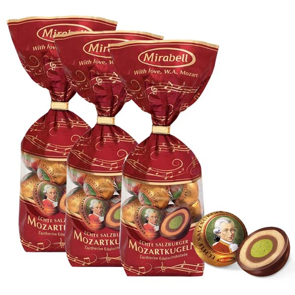 Mirabell Mozartkulor 273g x 3 st