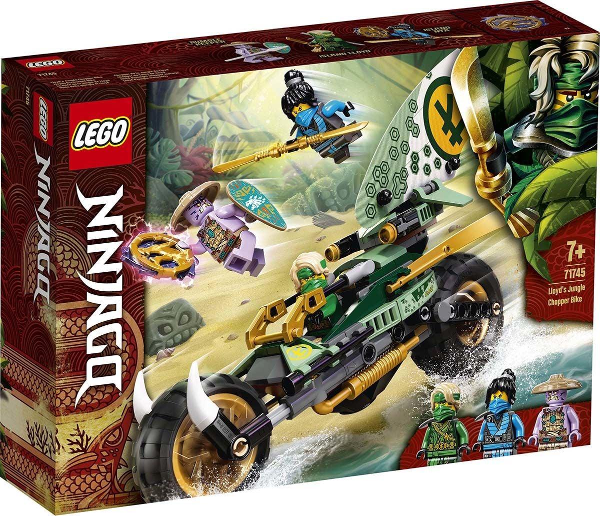 LEGO NINJAGO 71745 Lloydin Viidakkochopper