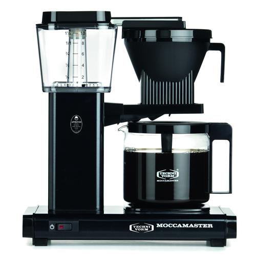 Moccamaster Hbg961ao-b Kaffebryggare - Svart