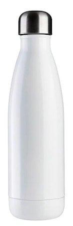 JobOut Vannflaske Aqua White