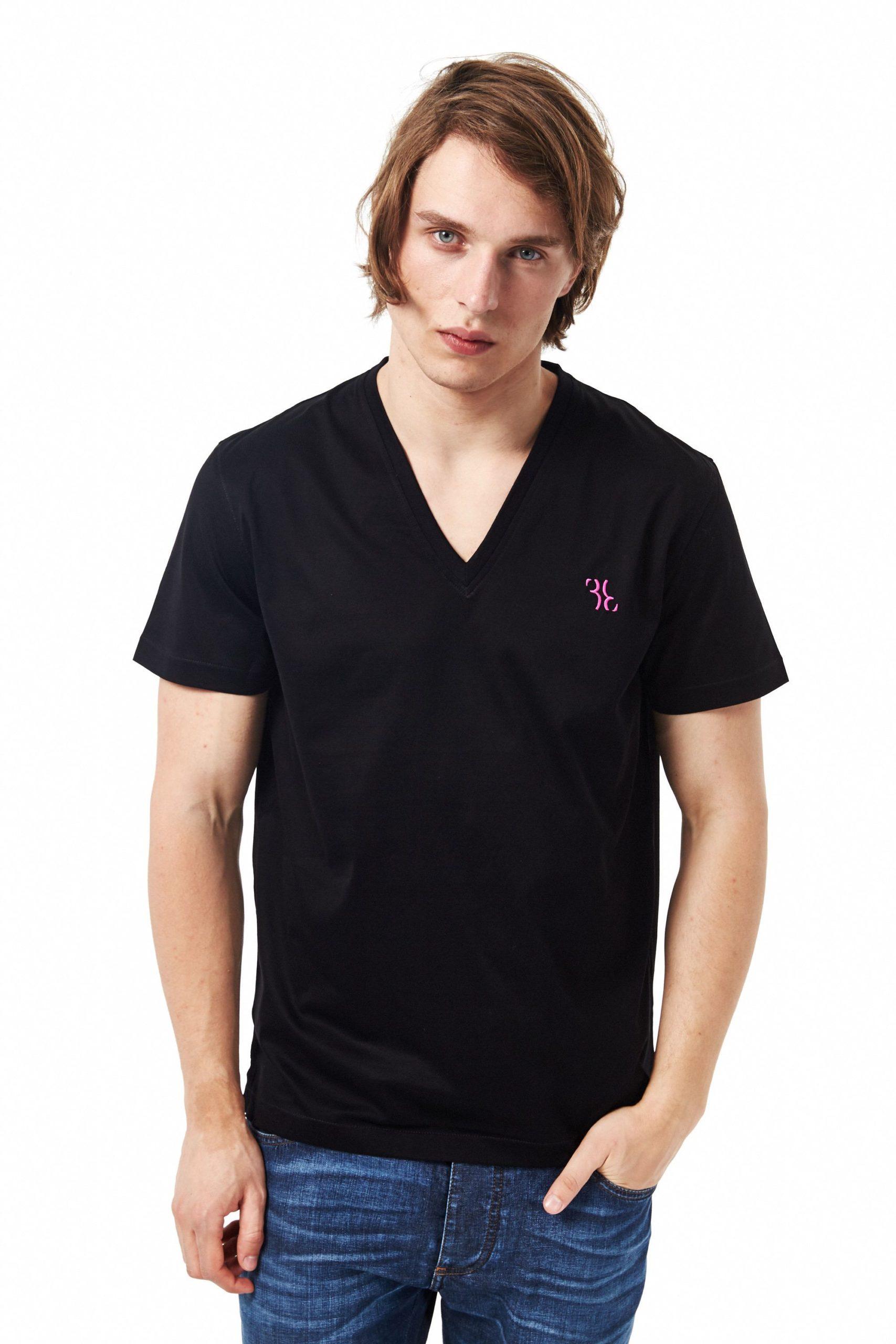 Billionaire Italian Couture Men's T-Shirt Black BI680795 - XS