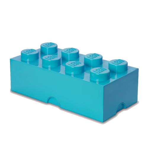 Room Copenhagen - LEGO Storeage Brick 8 - Medium Azur (40041743)