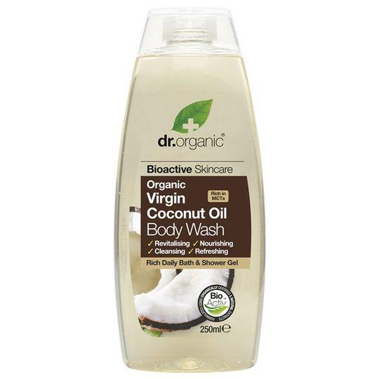 Dr. Organic Virgin Coconut Oil Body Wash, 250 ml
