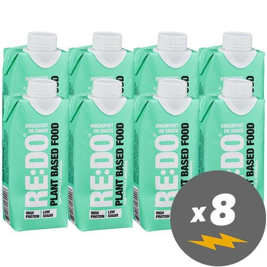 Växtbaserad Proteindryck Vanilla 8-pack - 70% rabatt