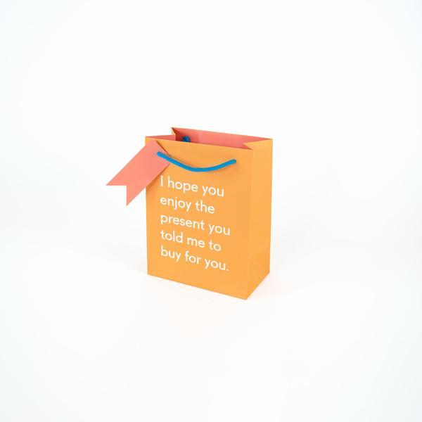 Enjoy The Present Medium Giftbag