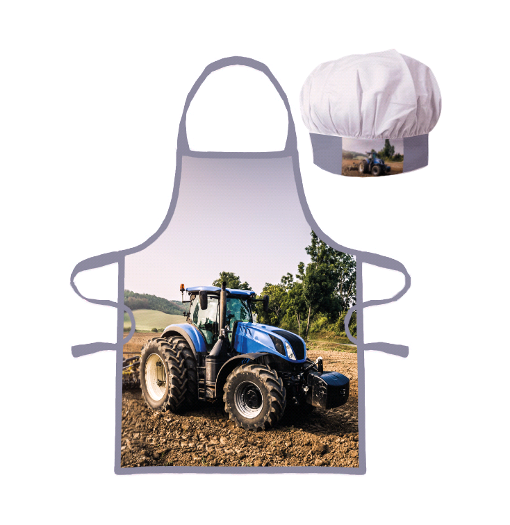 Kids Apron - Tractor (230001)