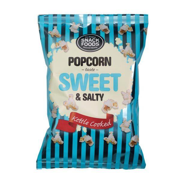 Snacks Food Sweet & Salty Popcorn 65g