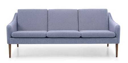Mr. Olsen 3-sitssoffa Soft violet Smoked Ek