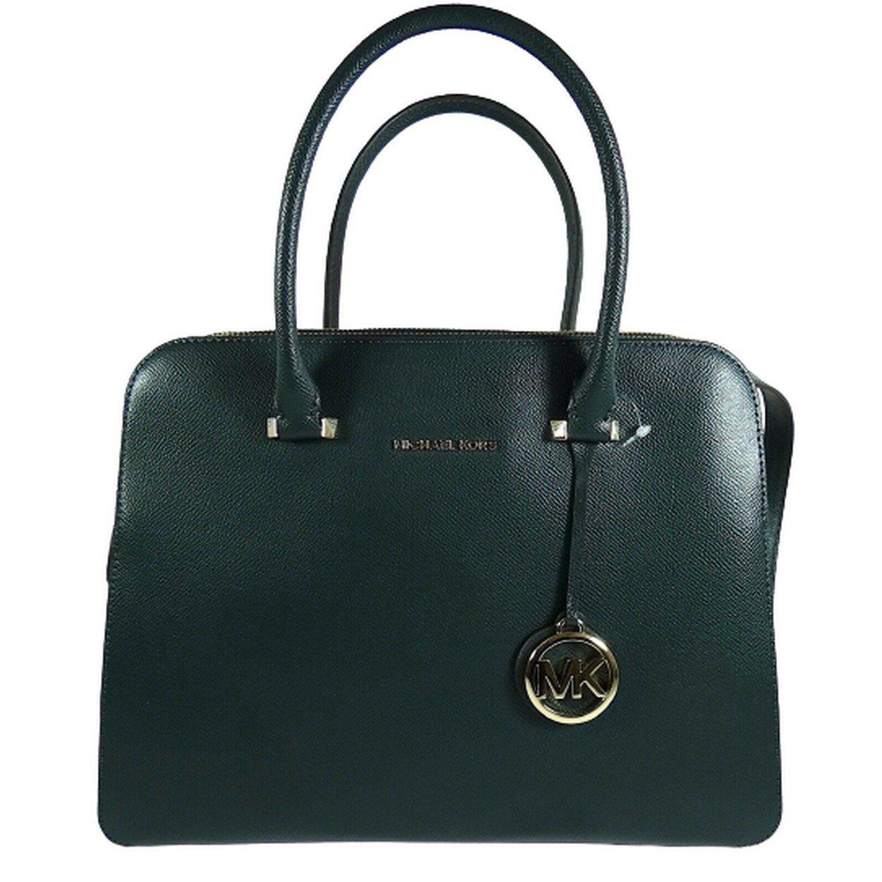 Michael Kors Women's Houston Crossbody Bag Green MK30303