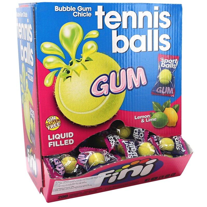 Tuggummi Tennisball 200-pack - 48% rabatt