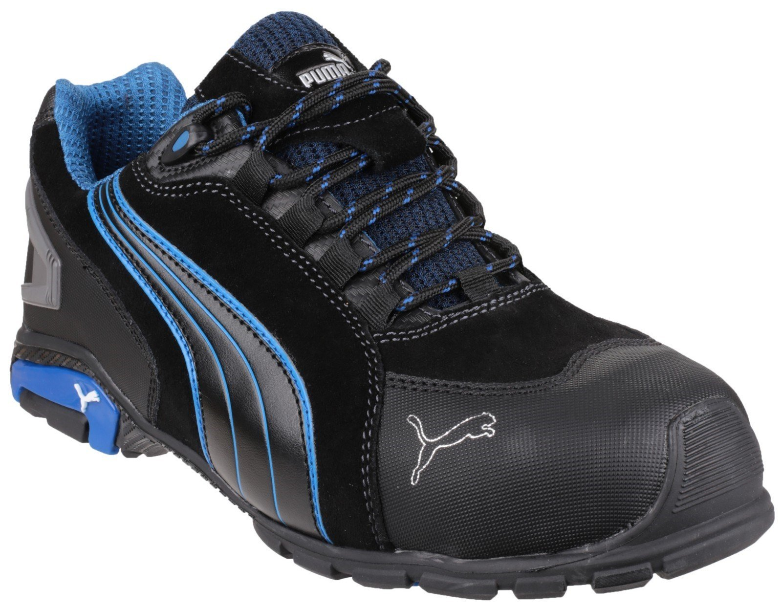Puma Safety Unisex Rio Low Lace-up Trainer Black 23096 - Black 6