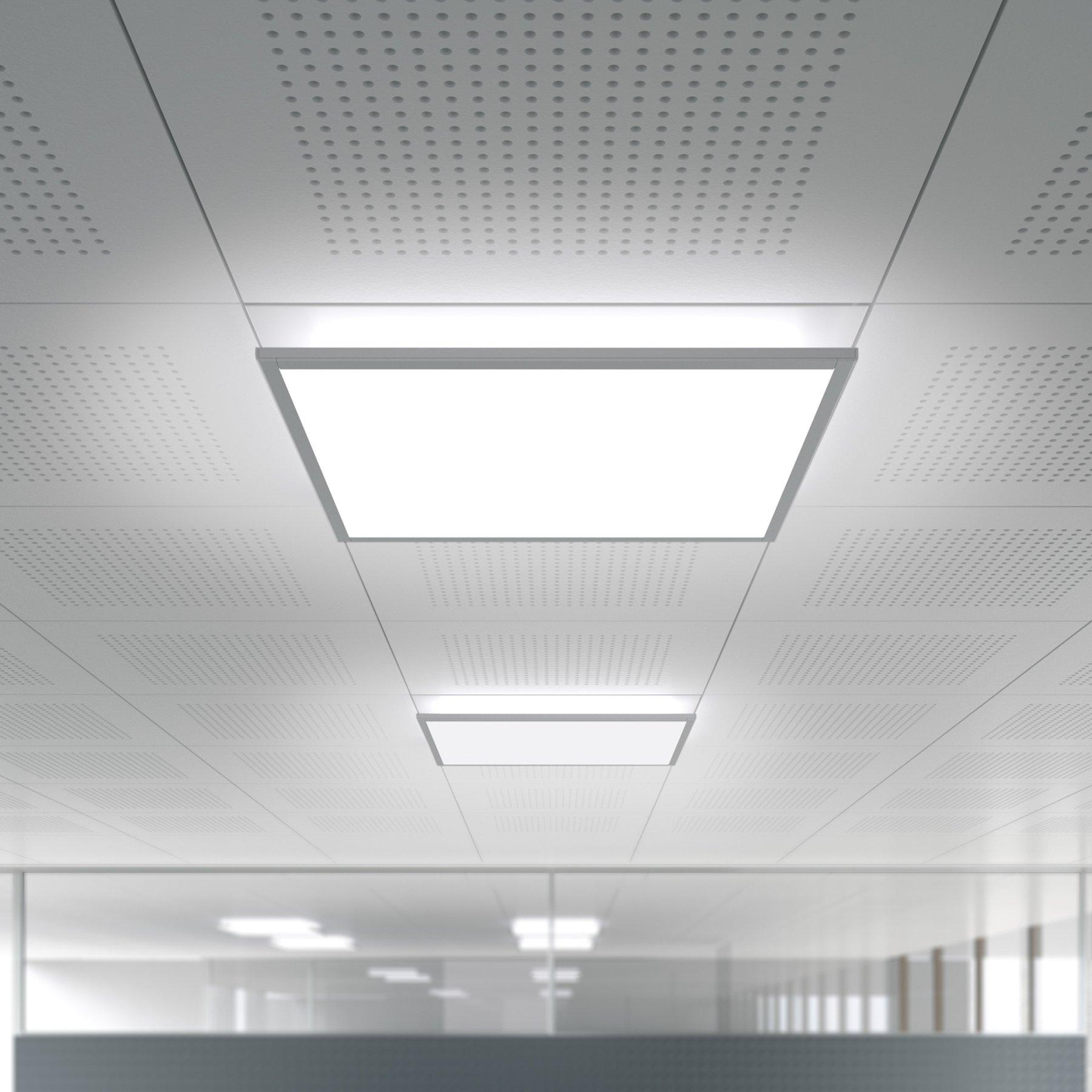 LED-downlight IDOO.fit 62.3x62.3cm IFE5000/VTL/D