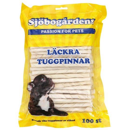 Vita Tuggpinnar Av Råhud 100-pack - 42% rabatt