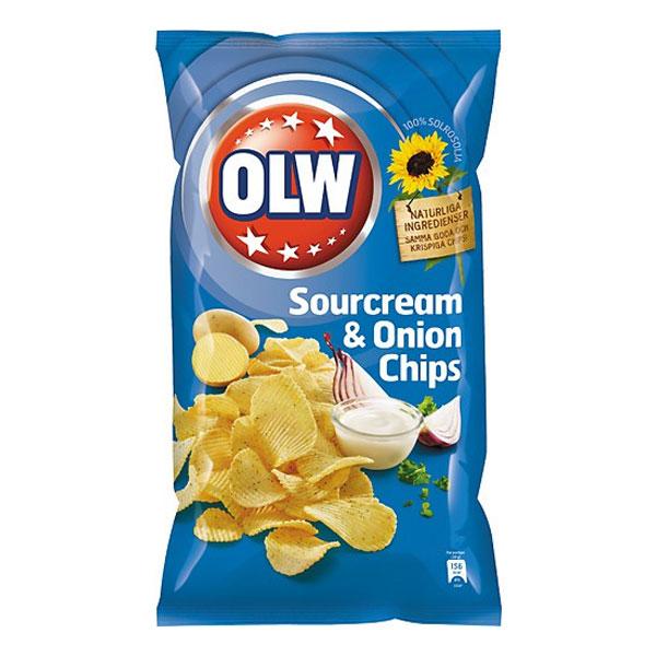 OLW Sourcream & Onion Mini - 1-pack