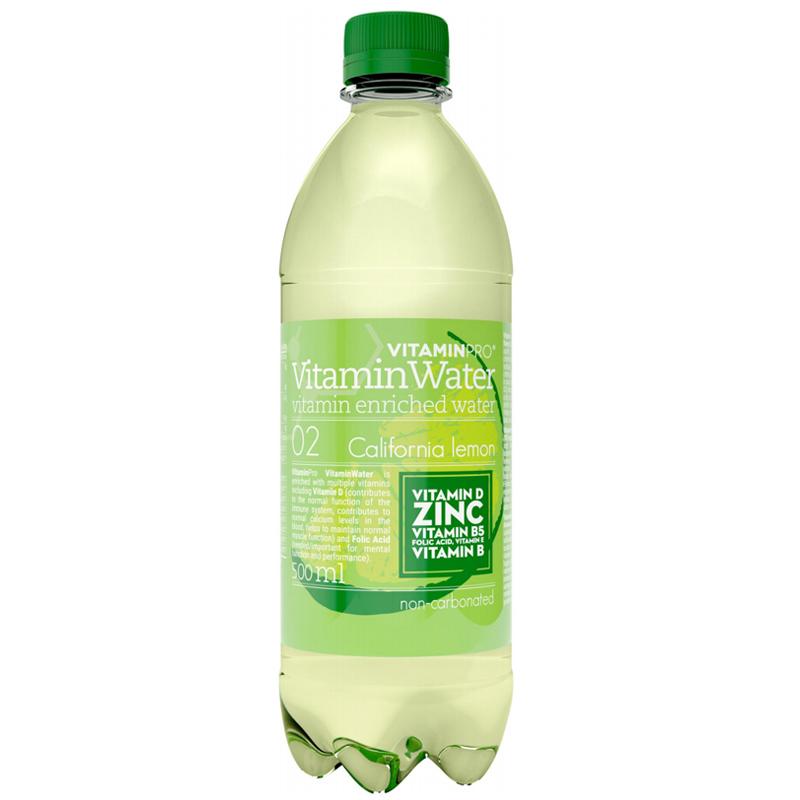 "Vatten ""California Lemon"" 500ml - 29% rabatt"