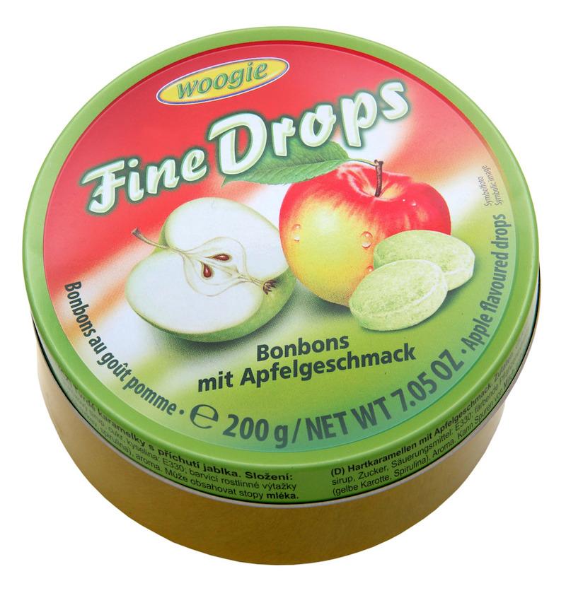 Woogie Fine Drops - Äpple 200g