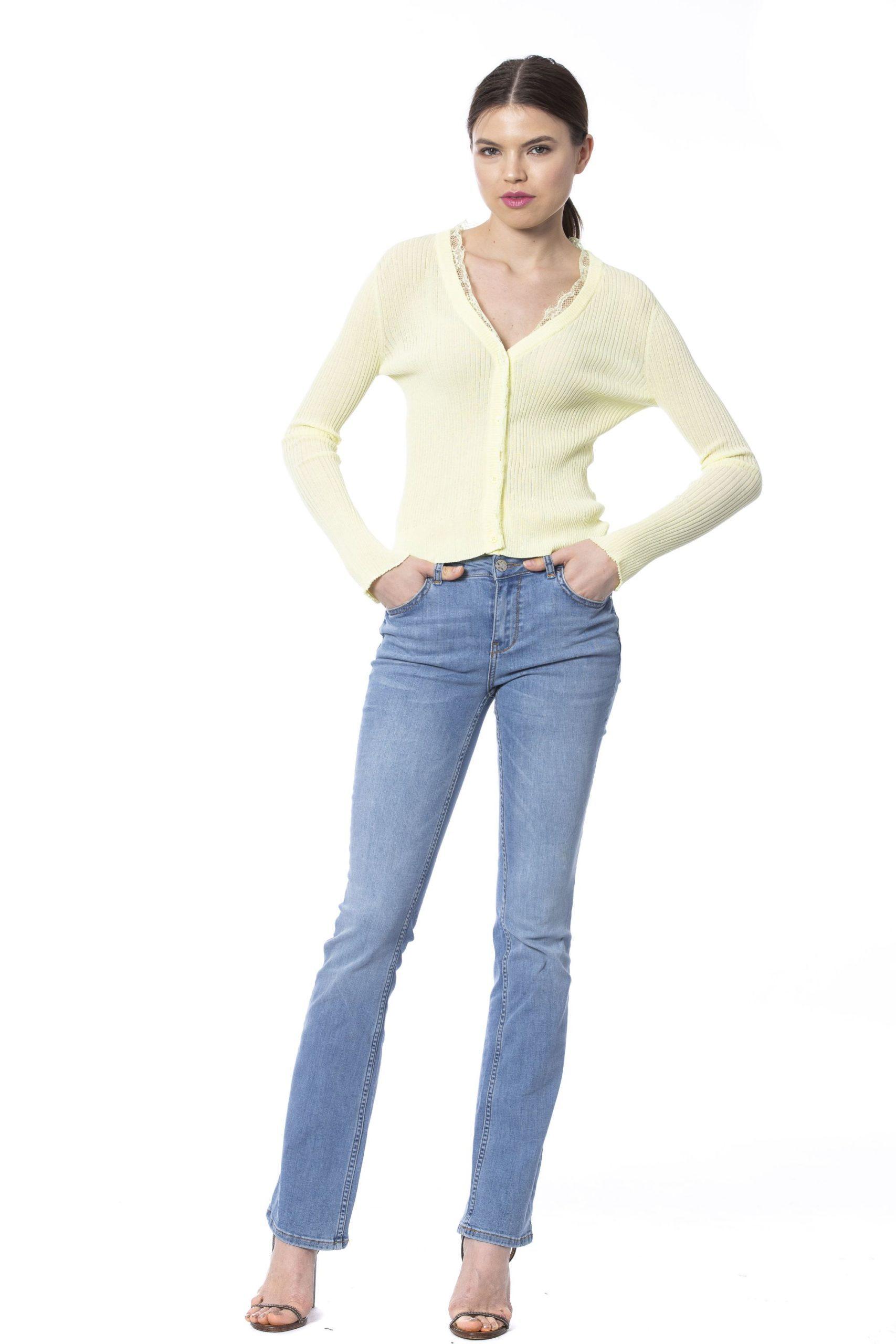 Silvian Heach Women's Sweater Yellow SI1258828 - XS