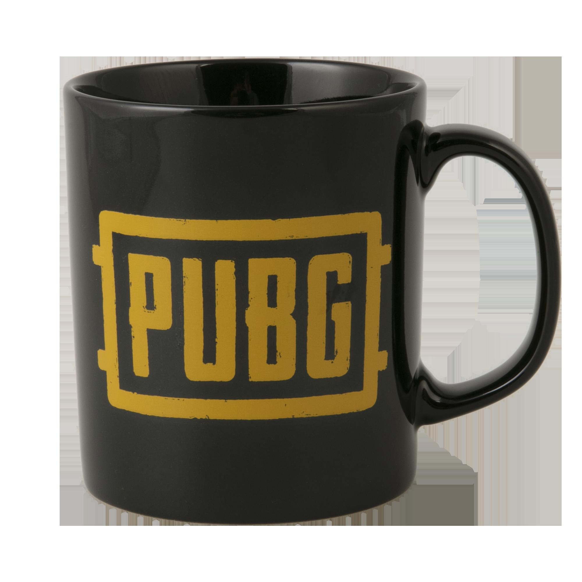 PUBG Logo Mug - Black/Orange
