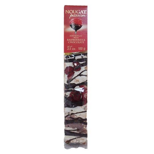"""Soft Nougat """"Raspberries & Chocolate"""" 100g - 60% rabatt"""