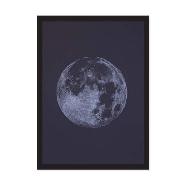 A4 Moon Riso Print