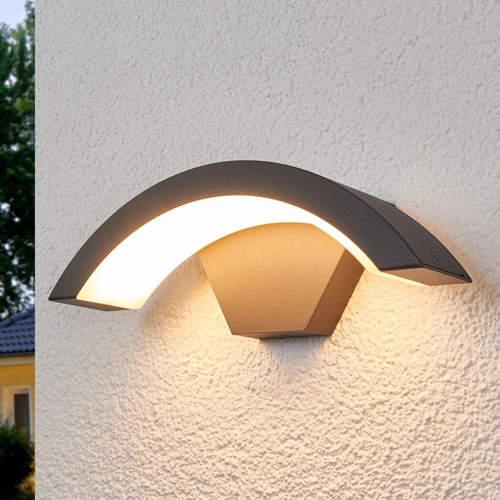 Buet LED utendørs vegglampen Jule