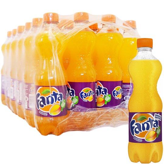 Hel Låda Fanta Mango 24 x 50cl - 66% rabatt