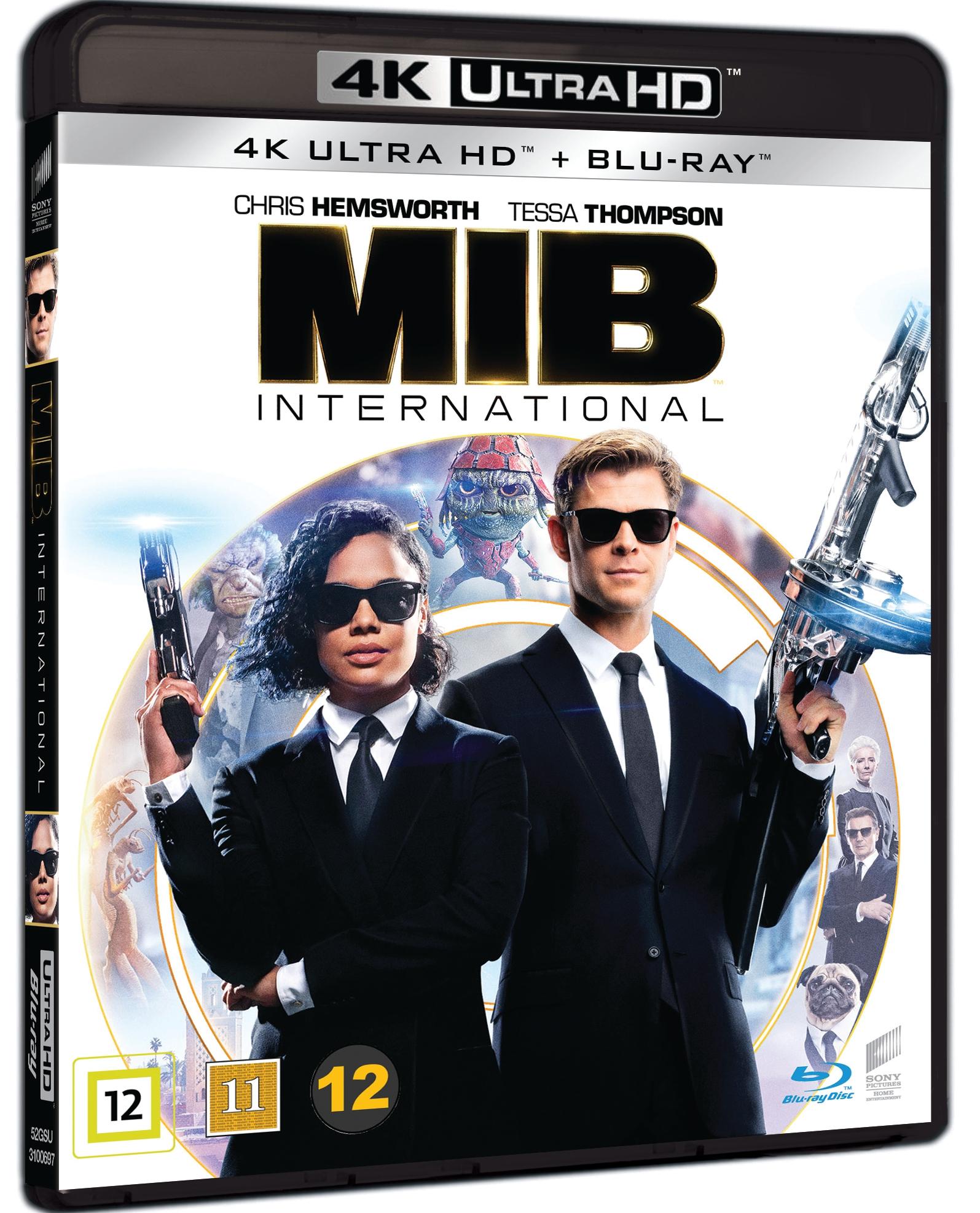 Men In Black: International (Uhd+Bd)
