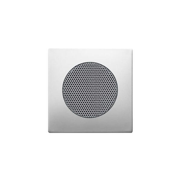 ABB Impressivo Midtplate for høytalerinnsats Stål