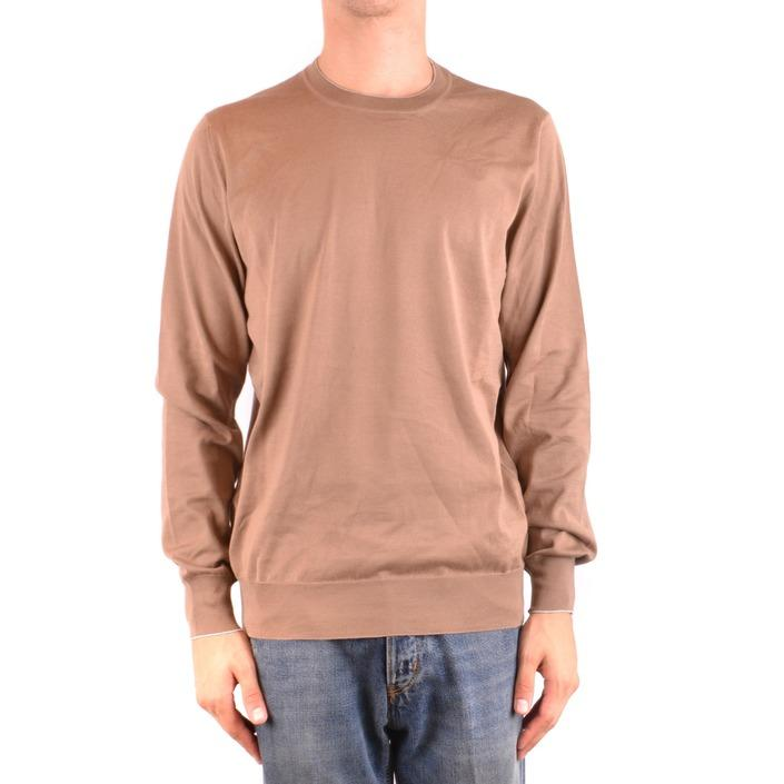 Brunello Cucinelli Men's Sweater Brown 231919 - brown 52