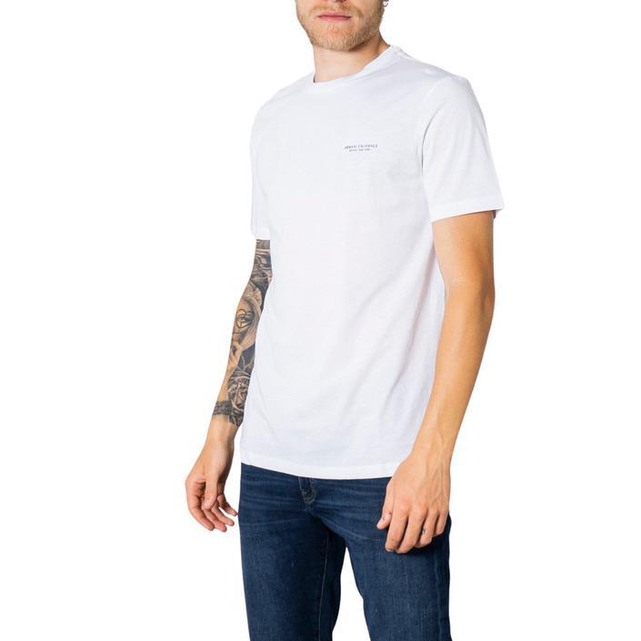 Armani Exchange Men's T-Shirt White 273456 - white M