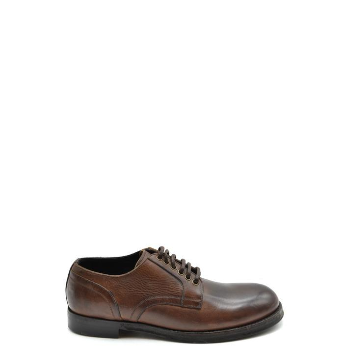 Dolce & Gabbana Men's Lace Up Shoes Brown 167746 - brown 41