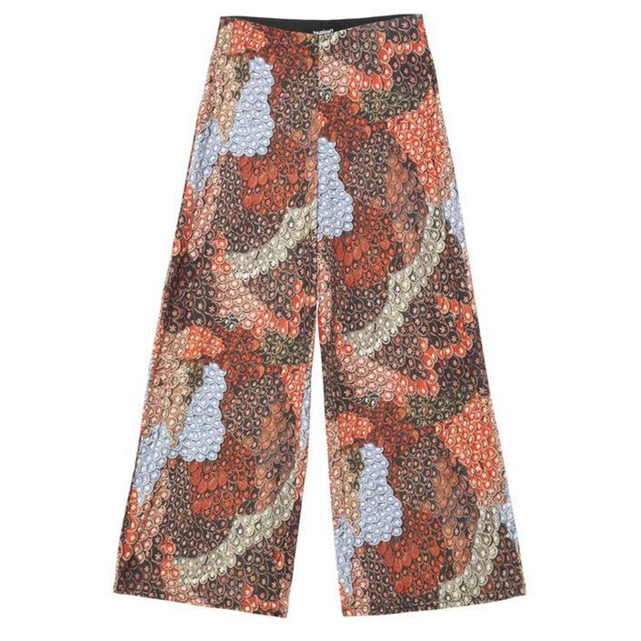 Desigual - Desigual Women Trousers - red S