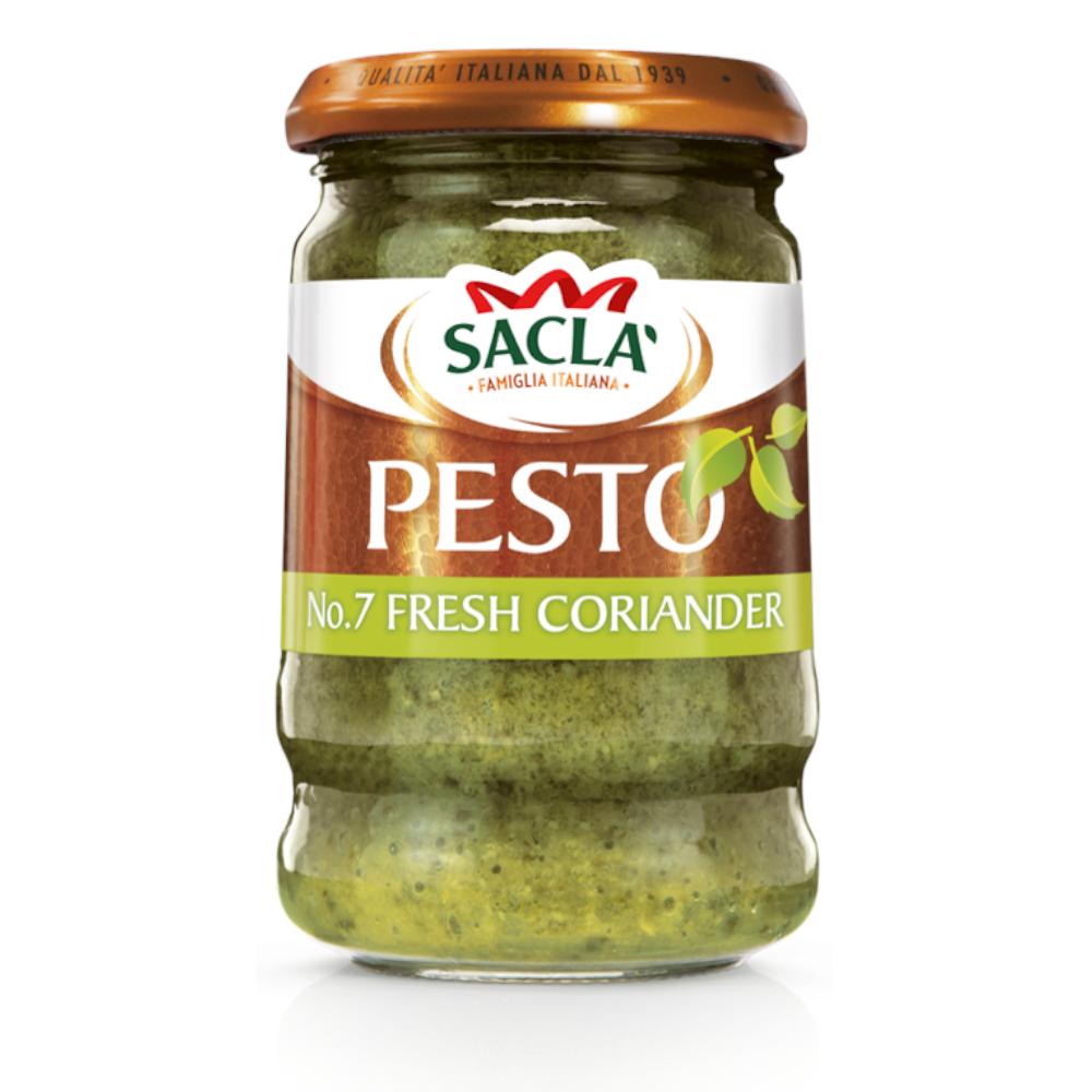 Sacla' Fresh Coriander Pesto 190g