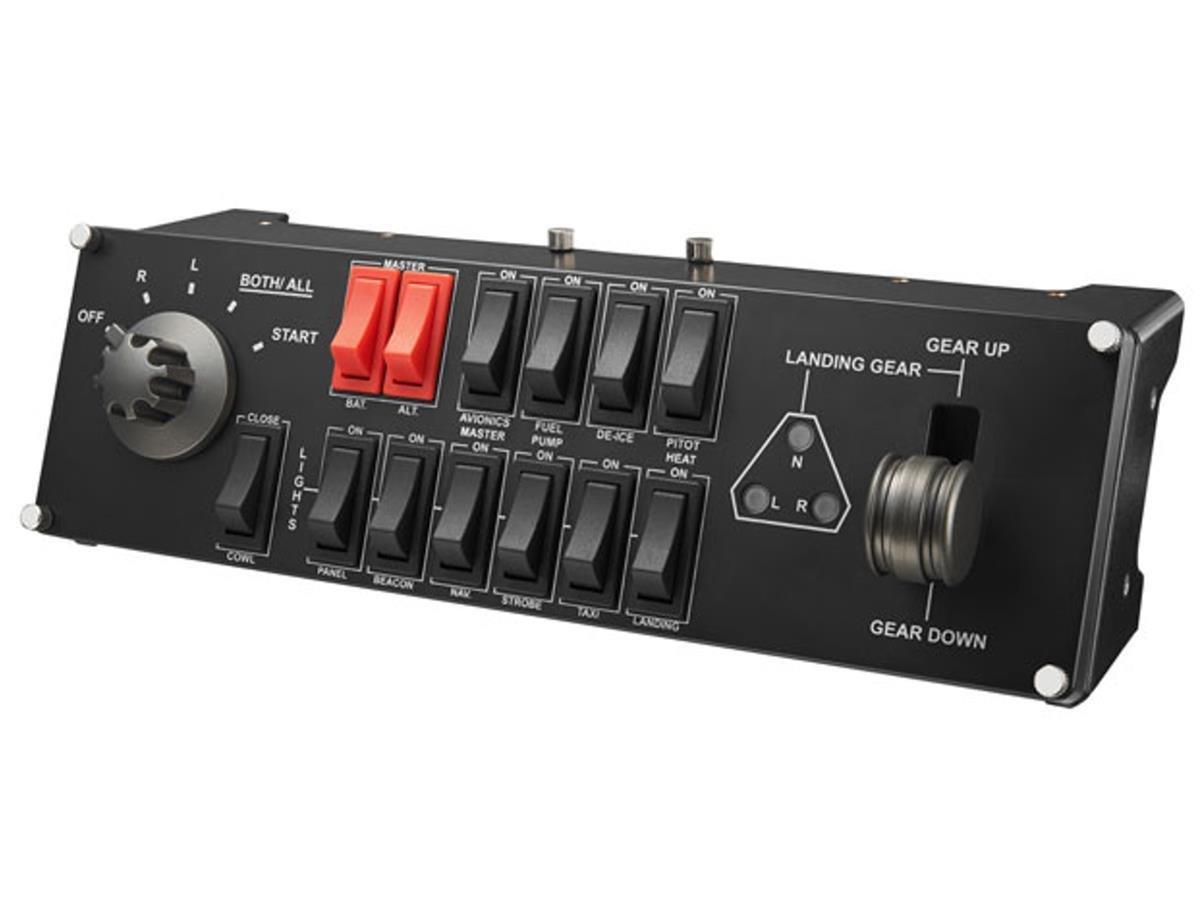 Logitech - G Saitek Pro Flight Switch Panel