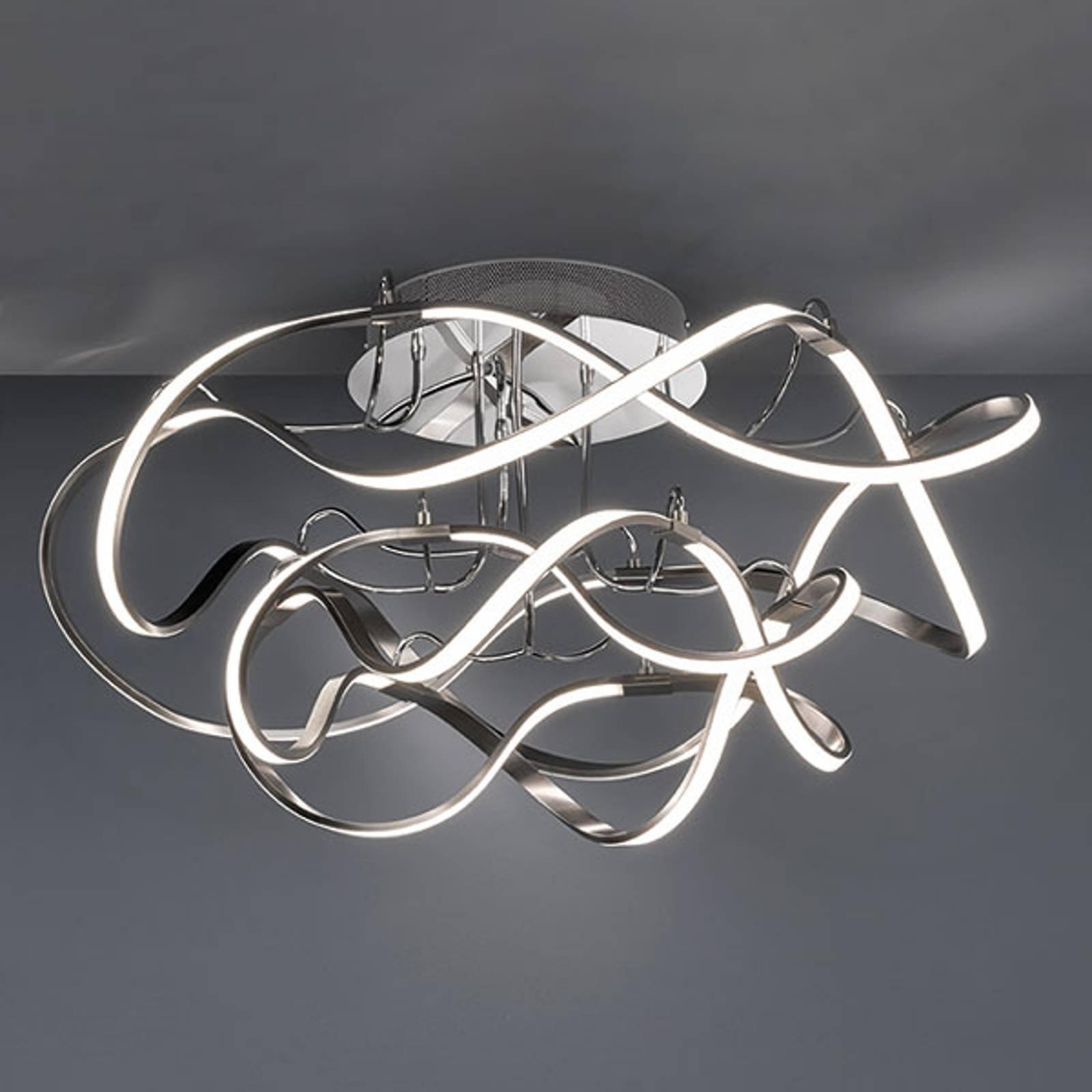 LED-taklampe Naxos, dimbar med veggbryter