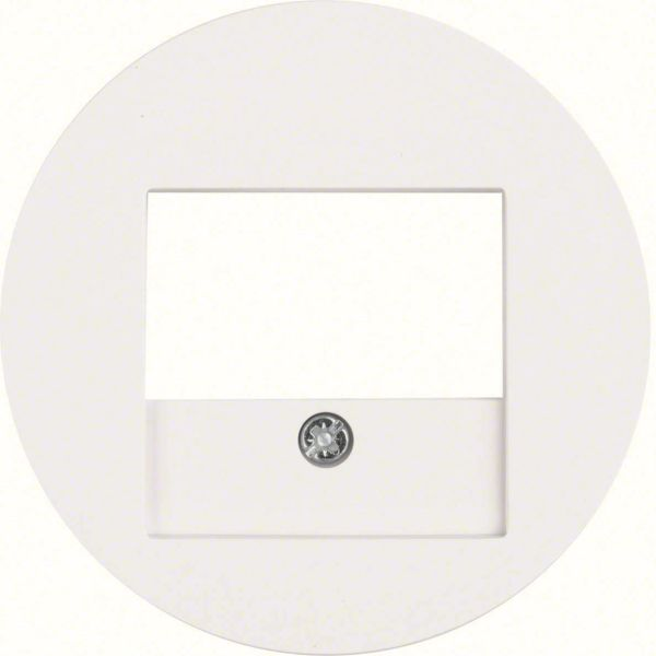 Hager 10382089 Keskiölevy USB-latauspistorasiaan valkoinen