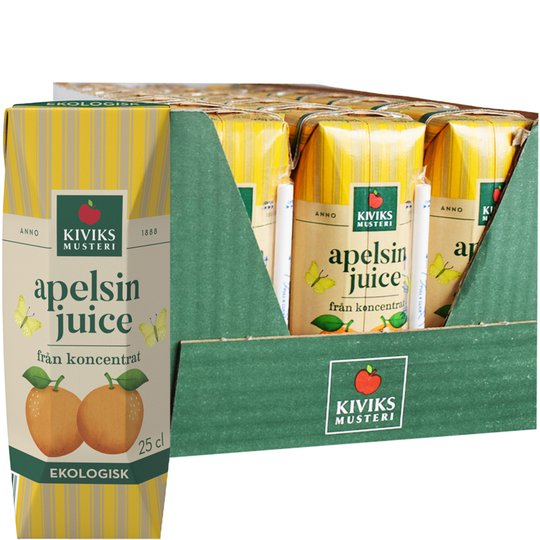 Eko Apelsinjuice 24-pack - 59% rabatt