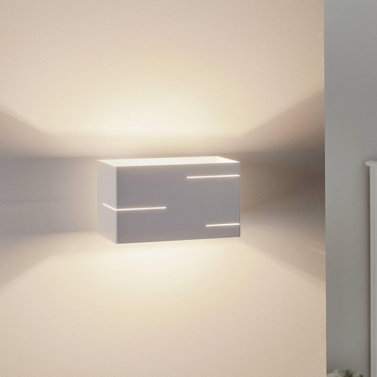 Seinävalaisin Laser, valkoinen teräs