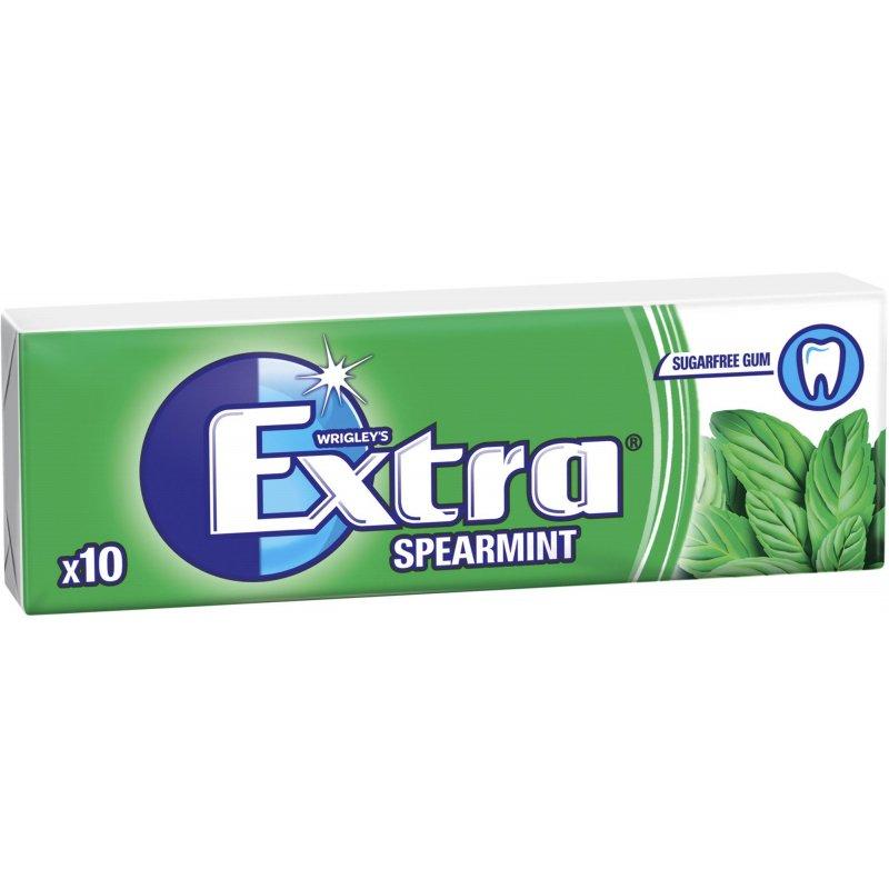 """Tuggummin """"Spearmint"""" 14g - 49% rabatt"""